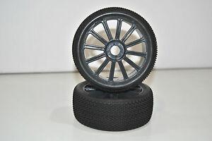 821003B-Paire-Roues-Complet-Buggy-1-8-Himoto-Hexagone-Interne-12mm-Cercle-Noir