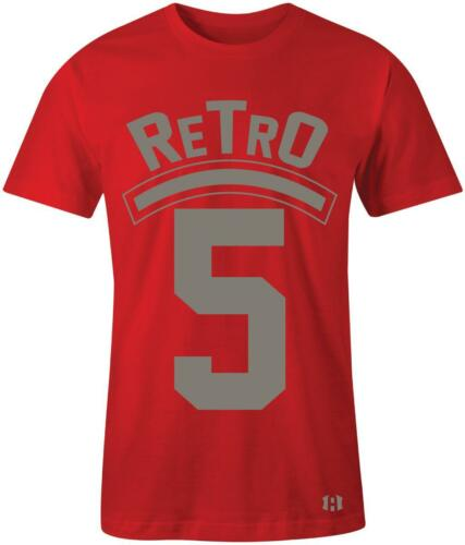 """/""""Retro 5/"""" T-Shirt to Match Air Retro 5 /""""CAMO/"""""""