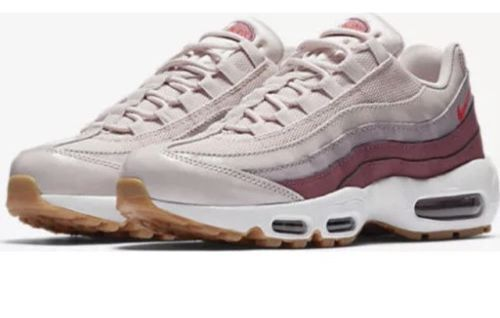 finest selection 3f5c5 1f2ac Nike Air Max 95 OG Womens Sz 9.5 Shoes Barley Rose Hot Punch 307960 603 for  sale online   eBay