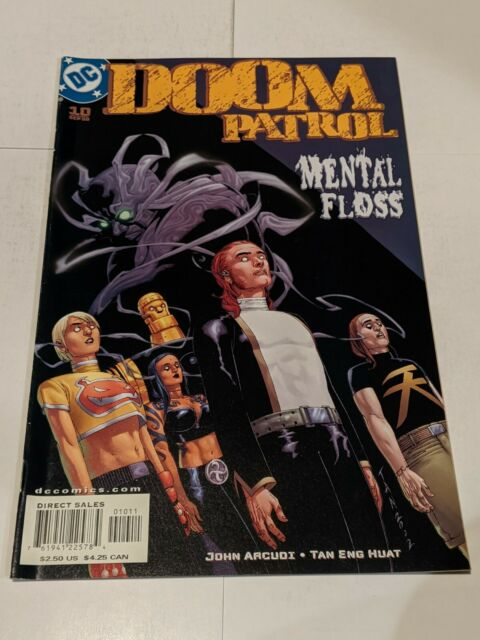 Doom Patrol #10 September 2002 DC Comics John Acudi Huat