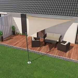premium-sonnensegel für terrasse & garten & balkon