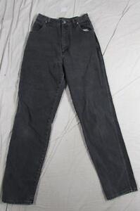 USA-Made-Wrangler-13MWZG-Womens-Denim-Jeans-Black-Color-Measure-27x32-5-Cowboy
