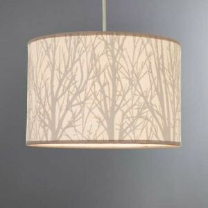 Nice Image Is Loading New Modern Stylish Cream Tree Scene Lamp Light
