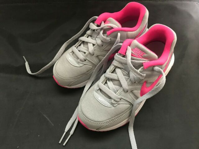 Nike Girls Size 1y Air Max Command Flex (ps) Shoes Greypink 844350 061