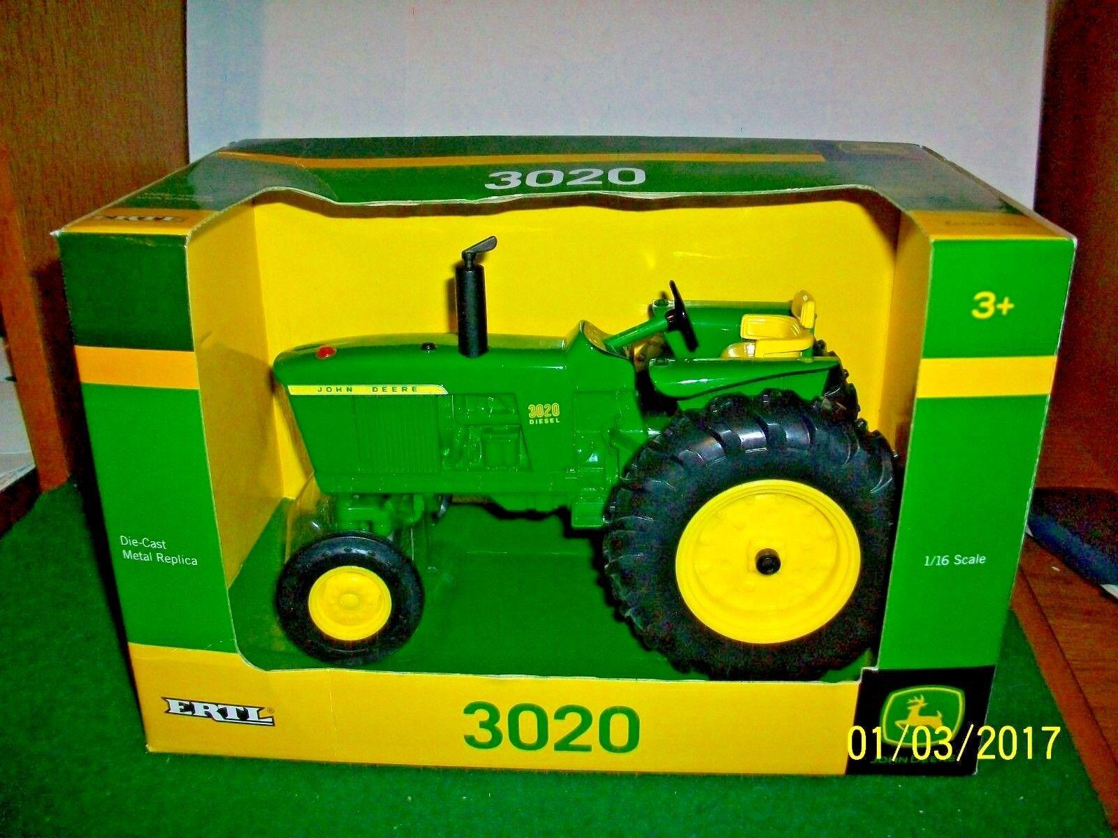 2016 ERTL John Deere Modèle 3020 Tracteur échelle 1 16
