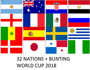 fifa 2018 world cup 32 nations flags 5x3 8 7 metre bunting russia