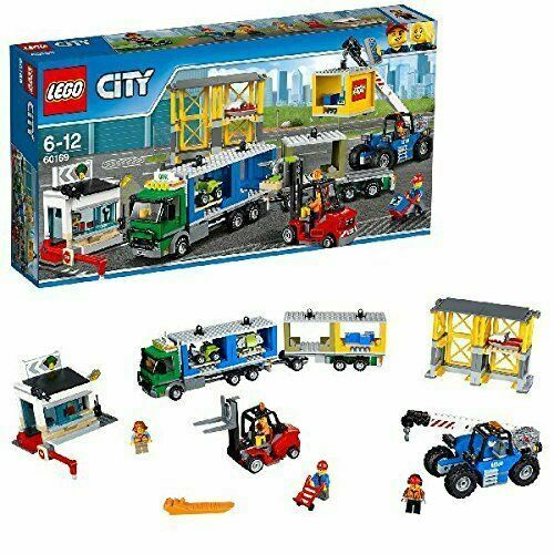 LEGO 60169 CITY CARGO CONTAINERS BRAND NEW FACTORY SEALED BOX