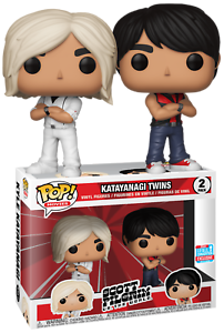 Katayanagi Twins Scott Pilgrim NYCC Funko Pop Vinyls New in Box