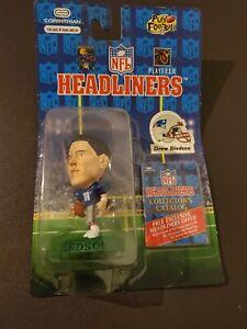 1996 Corinthian Headliners NFL Figurine Drew Bledsoe New England Patriots NIB
