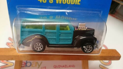 Hot Wheels /'40/'s Woodie Collector 217 7SP CP32