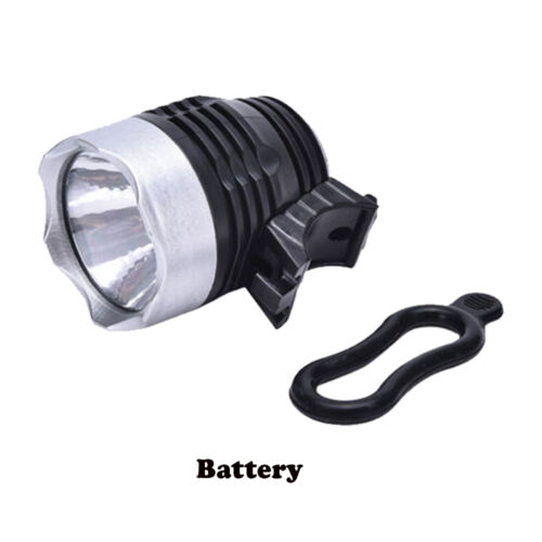 Waterproof Handle bar Battery LED Front Bulb Bike Torch Headlamp Bicycle Light