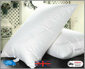 Duck-Feather-amp-Down-Pillows-Pillow-Extra-Filled-Hotel-Quality-PACK-of-2-4-6
