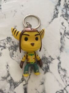 Playstation Ratchet and Clank Sackboy Keychain Collectible Items- rare