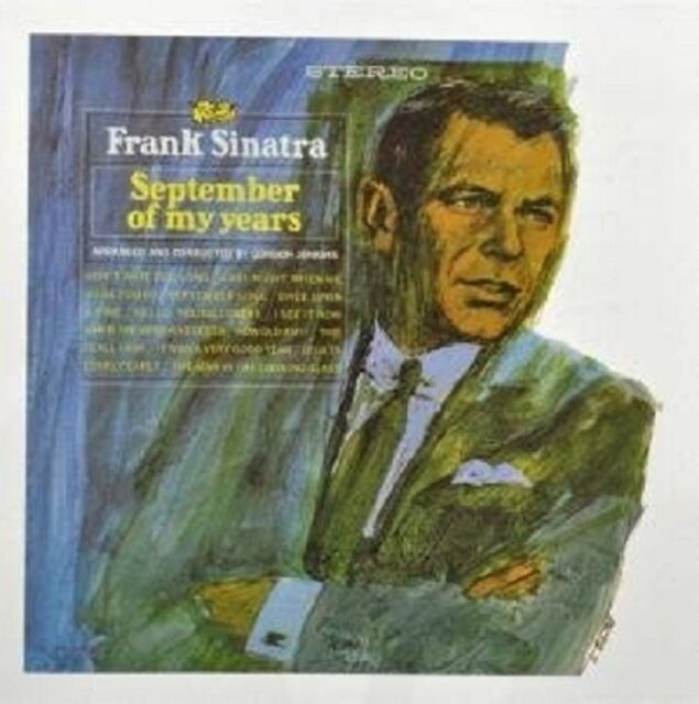 FRANK SINATRA - SEPTEMBER OF MY YEARS (EXPANDED EDITION)  CD 15 TRACKS POP  NEW!