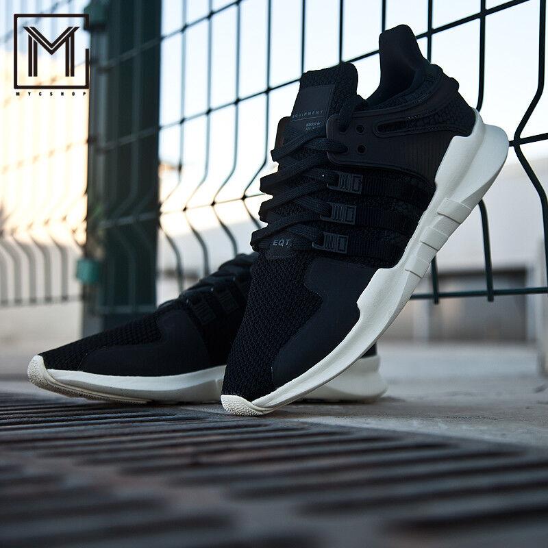Nuove nero adidas eqt appoggio avanzata in scarpe da ginnastica nero Nuove bianco by9587 scarpe casual e8a47a