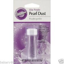 LILAC PURPLE COLOR PEARL DUST CAKE GUM PASTE FONDANT WEDDING BIRTHDAY DECORATING