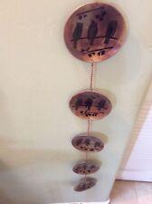 Ancient Graffiti Circle Rain Chain Flamed Copper Finish For Sale Online Ebay