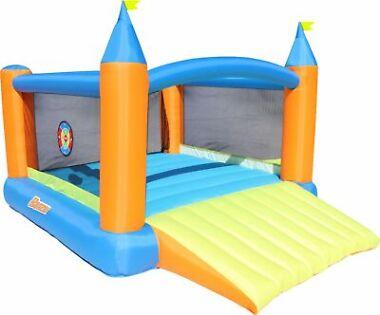 Banzai Slide n' Score Inflatable Bounce House