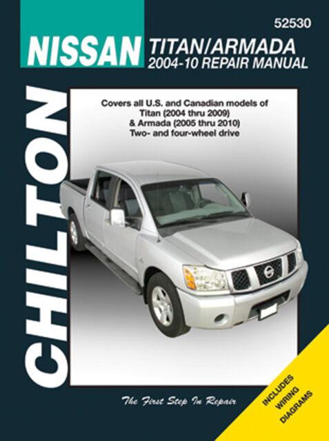 Repair Manual Chilton 52530 fits 04-09 Nissan Titan