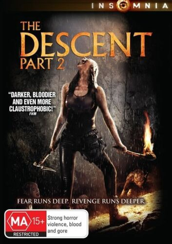 1 of 1 - The Descent - Part 2 (DVD, 2010)