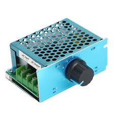 Ac 220v Input Knob 20a Pwm Dc 220v Motor Speed Controller Regulator Switch Yu