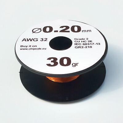 Magnet Wire Enameled Copper Coil 1 oz 1.3 mm 16 AWG Gauge 30 gr ~2.5 m