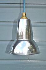 Polished metal anglepoise lamp shade desk light hanging shade reflector G3