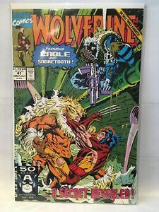 Wolverine-Vol-2-41-VF-1st-Print-Marvel-Comics