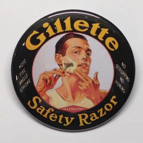 BOGO Gillette Safety Razor Fridge Magnet Vintage Style Buy 1 Get 1 FREE