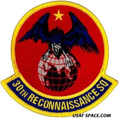 USAF 30th RECONNAISSANCE SQ RQ-170 STEALTH DRONE UAV INTEL ORIGINAL PATCH