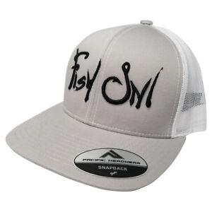 ee1bf992e1b Image is loading Pacific-Headwear-Fish-On-Snapback-Hat-Custom-Trucker-