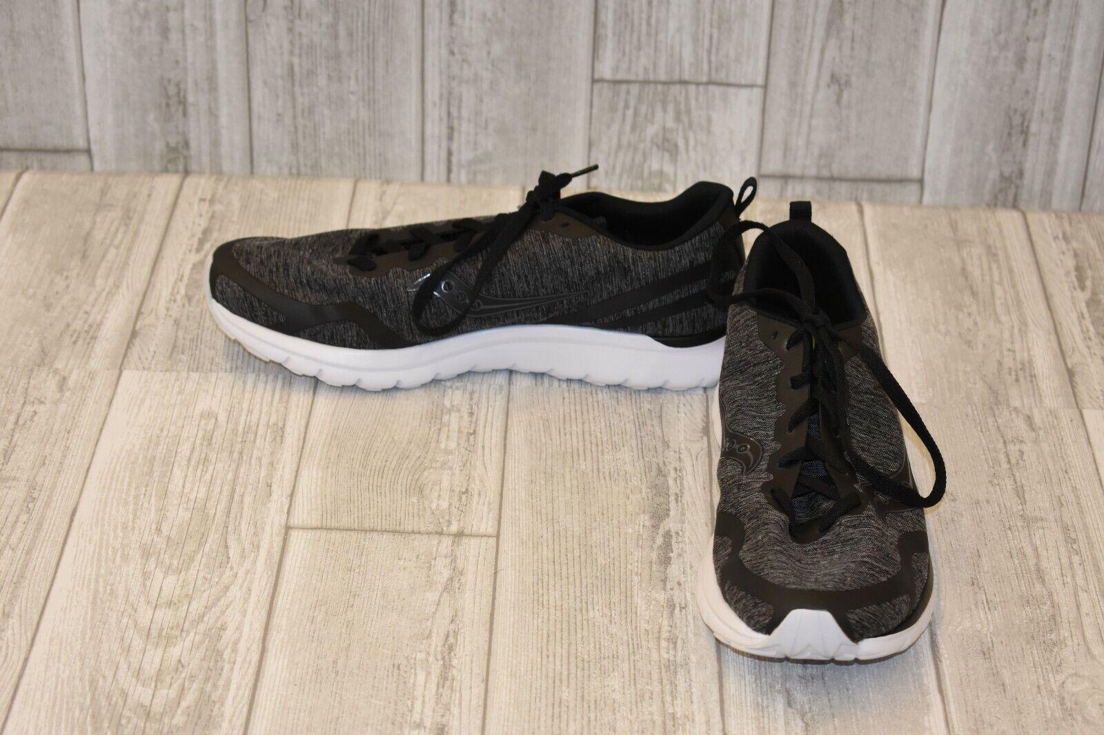 62eadd1a35ab9 Saucony Liteform Feel Men's Running Cross Trainning Sneaker Black Size 11