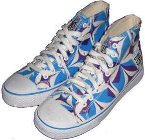 Original 80s VISION STREET WEAR MS15000 Skateboard Shoes Wh//Bl 5 UK 6 USA