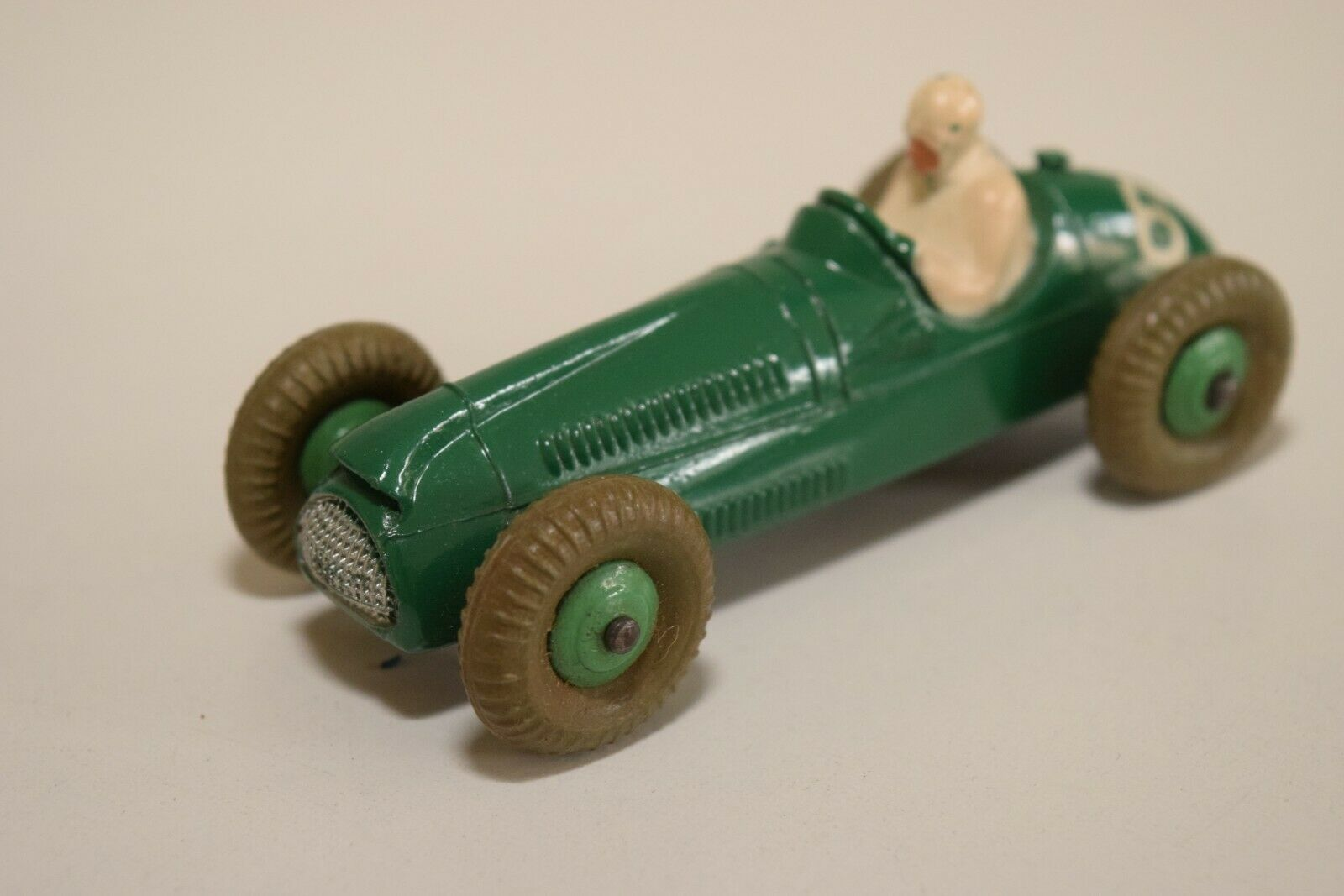 LL 1 43 DINKY TOYS 233 BRISTOL COOPE RACING CAR Grün NEAR MINT CONDITION