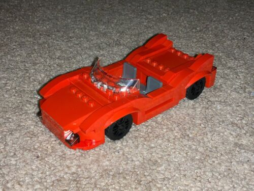 LEGO Custom Sports Car MOC INSTRUCTIONS AND PARTS LIST ONLY PDF