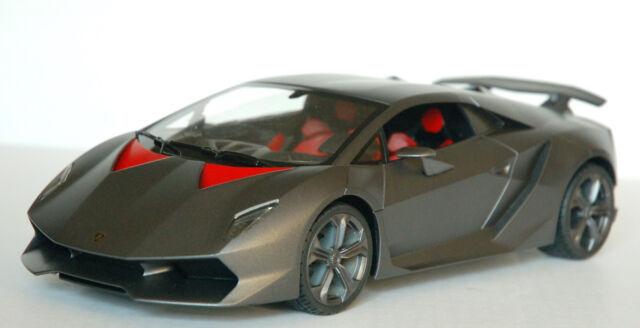 Rastar New Licensed Lamborghini Sesto Elemento RC Car Scale 1:14 - Grey