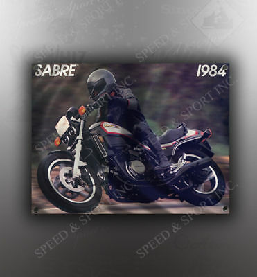 VINTAGE HONDA 1984 SHADOW IMAGE BANNER NOS IMAGE REPRODUCTION