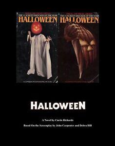 Details about HALLOWEEN CURTIS RICHARDS E- BOOK PD F format OF JOHN  CARPENTER'S HALLOWEEN 1978