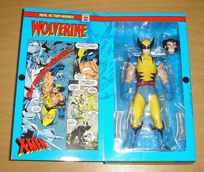 WOLVERINE X-MEN 11  Wirkung FIGURE REAL Wirkung HEROES