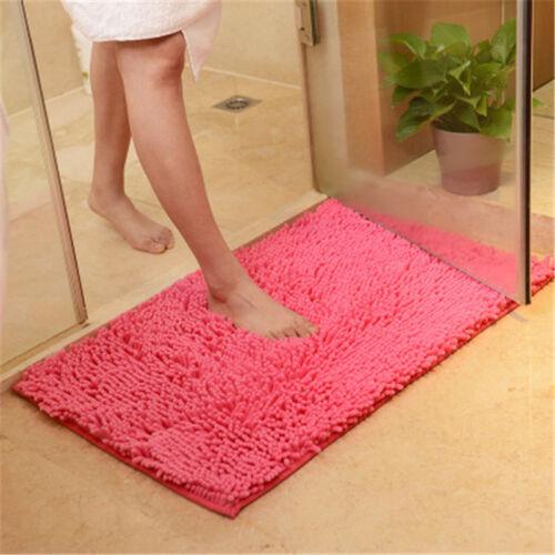15.7*23.6in Soft Chenille Bathroom Carpet Mat Bedroom Floor Mat Rug Doormat Rug