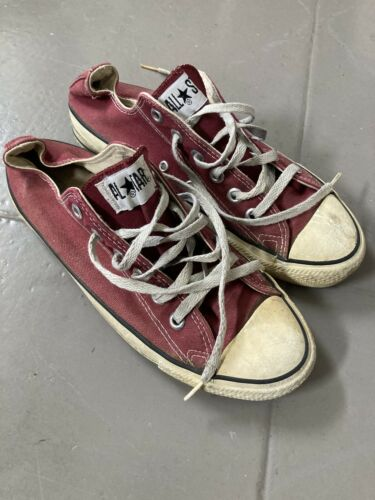 Vintage Converse All Star Chuck Taylor Low Made In