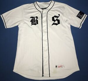 Blanc Large Undefeated L Jersey Mens Taille Baseball x1xwYt7H