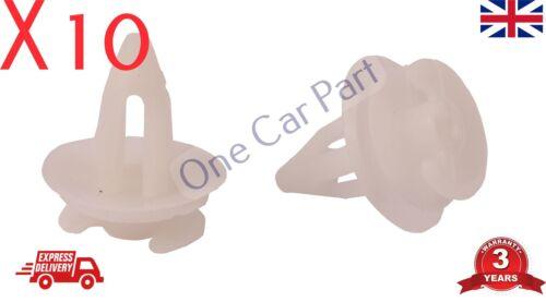10x Clips Pour Rover 25 MG ZR 75 MG ZR Porte intérieure carte Panneau Trim 51411973500