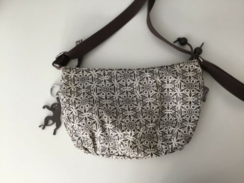 scimmie delle Very Good Brown Shoulder Borsa Small Kipling Womans Bag Condition White 4wqZPv
