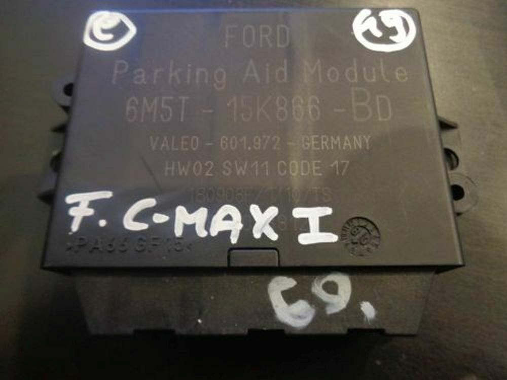 SENSORI PARCHEGGIO AUTO FORD C MAX FOCUS KUGA OEM 1X43-15K859 SENSORE PARKING