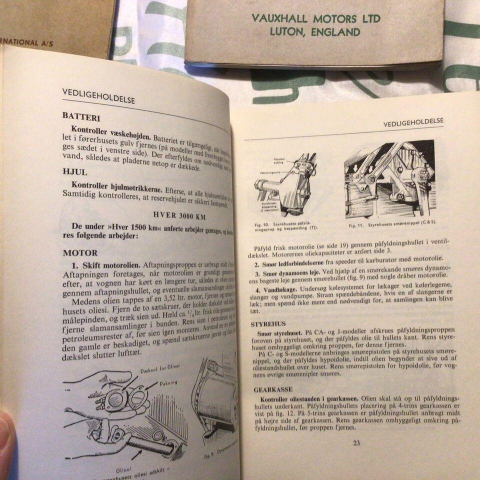 Instruktionsbøger, Bedford