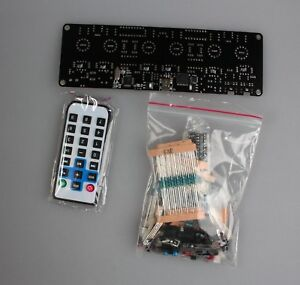 Details about NIXT CLOCK Kit - IN14 Nixie Clock KIT With Power Supply  Remote Temp RGB Led