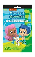 Nickelodeon Bubble Guppies Stickerland Book 290 Stickers Free Shipping
