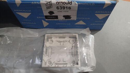 Arnould PROFIL 63916 ou 63 916 Cadre Simple pour appareillage Saillie PROFIL