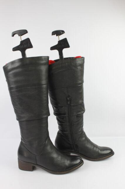 Boots LUCA FERRI FREEFLEX Black Leather
